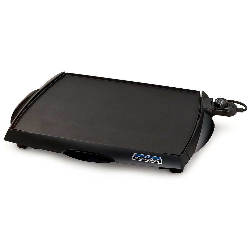 "Cool Touch Tilt'n Drain Electric Griddle 15""x18"""