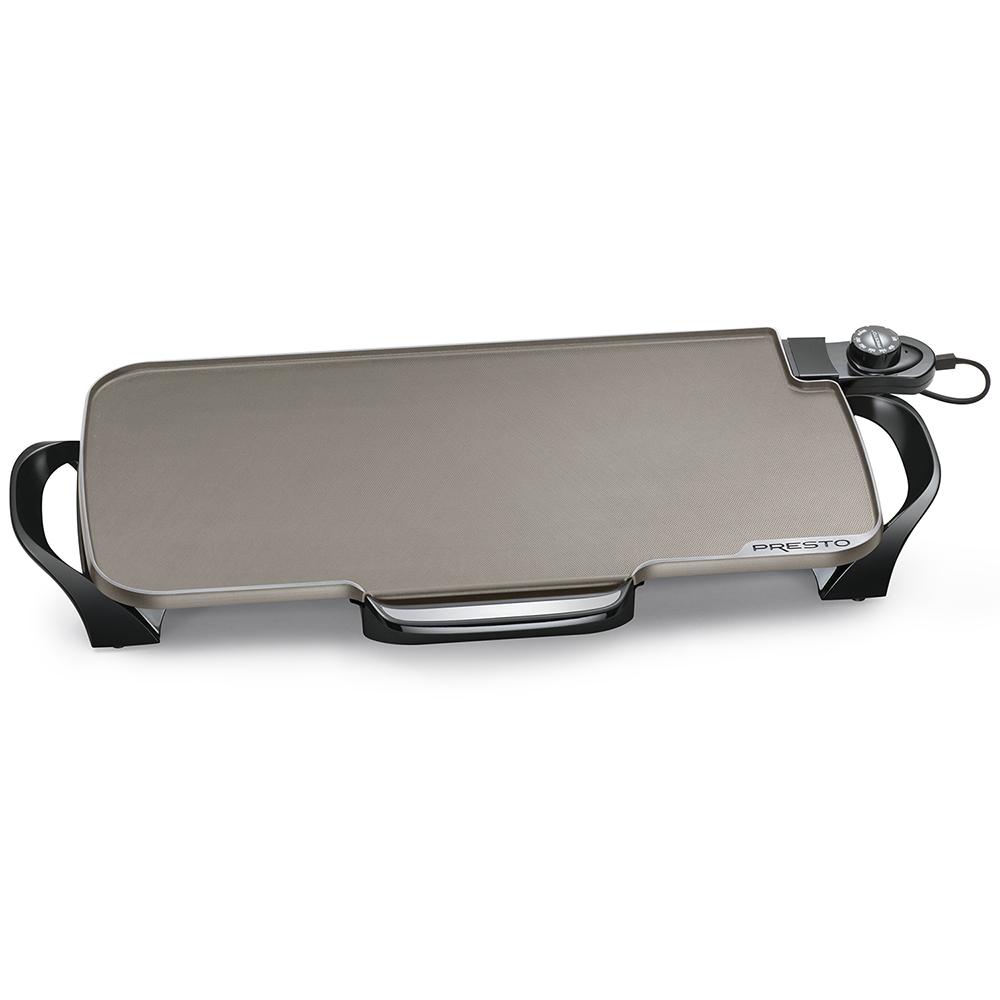 22-inch Electric Ceramic Griddle with removable handles