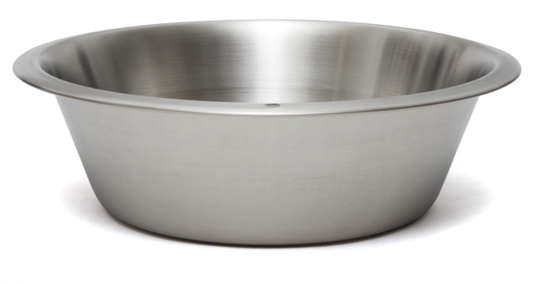 8 5qt Stainless Steel Flat Bottom Dish Pan 48850 Admin