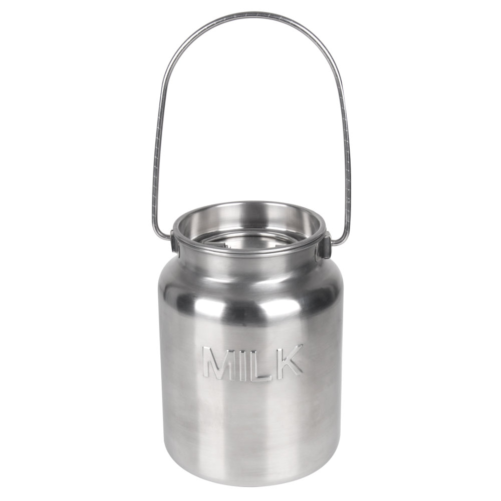Stainless Steel Gallon Jug - MILK