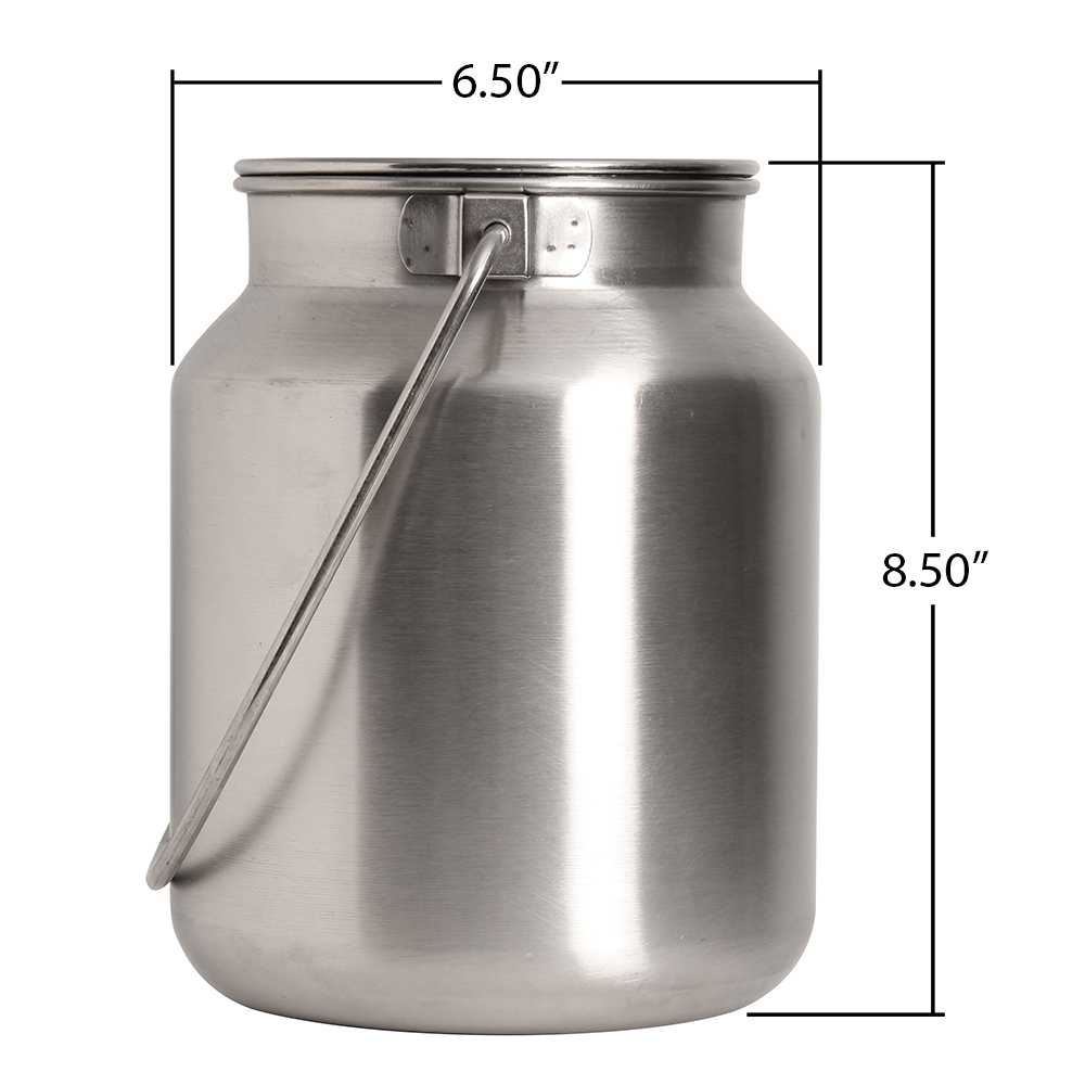 Stainless Steel Gallon Jug - Click Image to Close