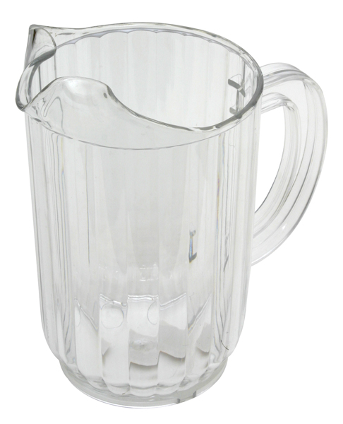 32 oz. Clear Plastic Pitcher