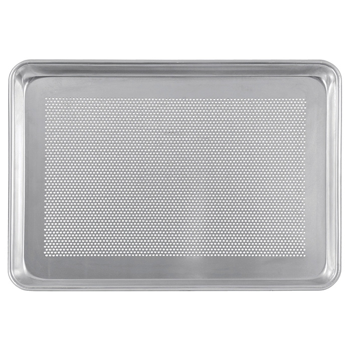 "18"" x 13"" Half Sheet Pan - Perforated"