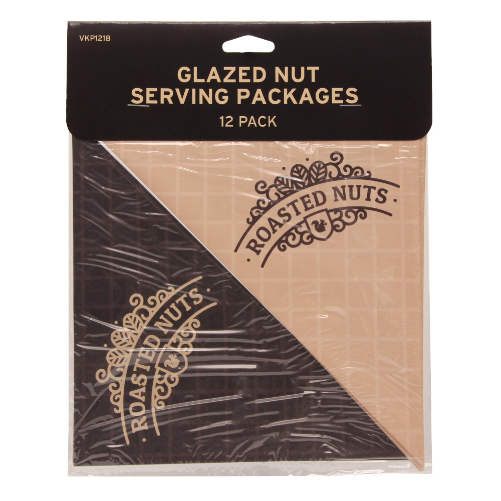 Glazed Nut Serving Packages - 12 PK